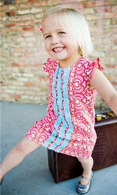 Loving these little girls dresses...so cute!