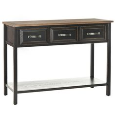 Shop Wayfair for Safavieh Harvard Console Table - Great Deals on all Furniture products with the best selection to choose from!