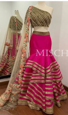All Ethnic Customization with Hand Embroidery & beautiful Zardosi Art by Expert & Experienced Artist That reflect in Blouse , Lehenga & Sarees Designer creativity that will sunshine You & your Party Worldwide Delivery. Indian Wedding Gowns, Indian Bridal Lehenga, Indian Gowns Dresses, Indian Fashion Dresses, Indian Designer Outfits, Indian Outfits, Bridal Lehenga Collection, Dress Collection, Designer Lehnga Choli