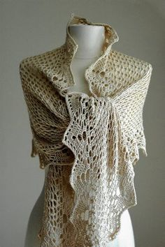 Japanese Crochet Shawl - A Free Pattern