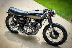 Honda 350 Cafe Racer #motorcycles #caferacer #motos | caferacerpasion.com