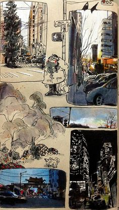 Sketchbook Drawing april-liu: i actually do not support nice sketchbooks - Arte Sketchbook, A Level Art Sketchbook Layout, Travel Sketchbook, Art Diary, Sketchbook Inspiration, Urban Sketching, Pretty Art, Aesthetic Art, Collage Art