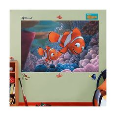 Other Nursery Wall D cor 20430: Fathead Finding Nemo Mural Graphic Wall Dcor -> BUY IT NOW ONLY: $116.28 on eBay!