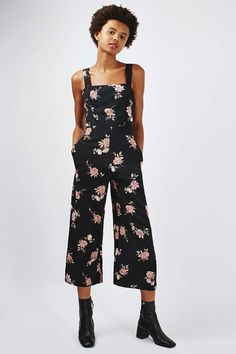 **Open Back Culotte Jumspuit by Nobody's Child - Clothing- Topshop