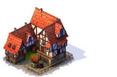 ArtStation - Some buildings modelled for Gameloft, Branislav Brankov