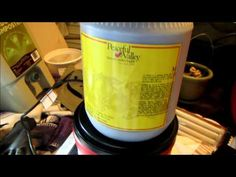 Charging or activating biochar before using it in the garden - YouTube