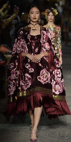 Dolce and Gabbana Alta Moda Fall 2016 couture
