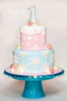 A beautiful winter birthday idea for boys and girls!