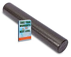 Premium Foam Roller - Free Bonus Gift Included - Round High Density 6 x 36 Roller - Great for Exercise and Muscle Fitness Stretches - Self Massage to Release Muscle Tightness or Trigger Points - USA Made - Money Back Guarantee - Lifetime Warranty QualiProducts Fitness http://www.amazon.com/dp/B00TBNWFOQ/ref=cm_sw_r_pi_dp_ZOByvb026FX5A