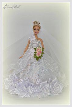 Elvira Balena,BArbie Bride Doll