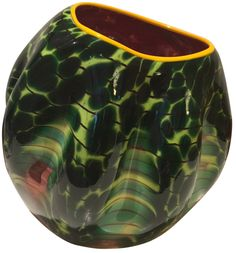 Dale Chihuly (American, b. 1941), Sunset Macchia for Portland Press Edition, 2004/2005