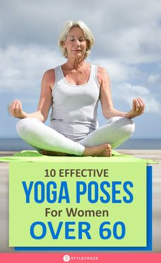 Yoga has several benefits like improved flexibility, more bone strength, and sharp memory. Here are 10 easy yoga poses for women above Yoga For Elderly, Yoga For Seniors, Stretching Exercises For Seniors, Yoga Exercises, Yoga Workouts, Yoga Kundalini, Yoga Meditation, Easy Yoga Poses, Yoga Poses For Beginners