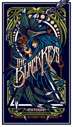 The Black Keys gig poster