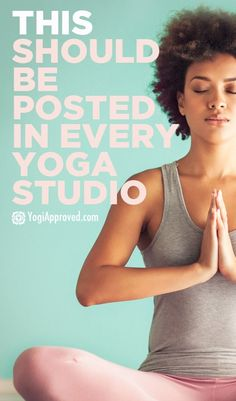 A Disclaimer That Should Be Posted In Every Yoga Studio