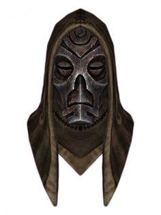 Hooded Hevnoraak Dragon Mask