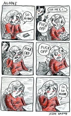 Anne Emond talks real about the social panics we don't often admit to feeling, and why comics express them so well.
