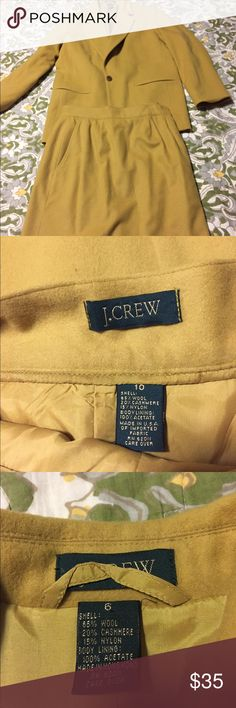 J.crew suit separates Skirt size 10 J. Crew Jackets & Coats Blazers