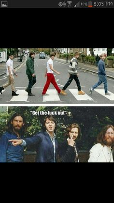 Ha. Love both bands♥