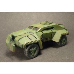 Zebu Land Cruiser sci-fi wargames vehicle
