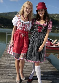 Rotes Dirndl #Wiesn #Oktoberfest #Trachtenmode | HeidisTrachten.de