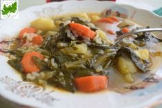 Have you tried collards? Most people use bacon to flavor this dish but we used carrots and STAR Balsamic Vinegar to help sweeten the colla. Collard Greens Recipe, Potato Recipes, Veggie Recipes, Cooking Recipes, Healthy Recipes, Carrots And Potatoes, Veggie Delight, Vegan Dinners, Vegetarian