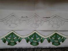 L&C Artesanatos: Desenhos para barrados inteligentes ou falso barrado