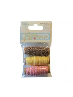 The Good Craft Shop: Dovecraft Forget Me Not Twine. Pack contains 30 metres.