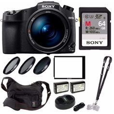 Sony Cyber‑Shot IV with Second Auto-Focus & Optical Zoom Bundle Ny Usa, Camera Lens, Cyber, Sony, Brooklyn, Free