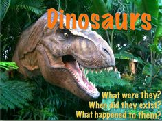 Dinosaurs! What were they? What happened to them? How do we know about them? This 62 slide Powerpoint presentation talks about all of these questions and more. From fossils to the carnivores, herbivores, and omnivores. From dinosaur characteristics to the K/T event. It has higher level thinking activities, riddles, and diagrams to keep the students engaged.