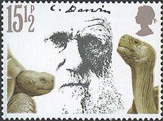 Centenario de la muerte de Charles Darwin. Tortugas gigantes.