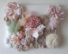 Handgehaakt, gebleekt koraalrif van Titfer Designs op DaWanda.com