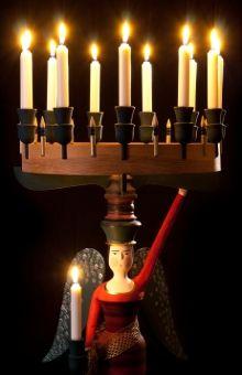 Außergewöhnliche Engel aus Holz für Weihnachten und das ganze Jahr ... #Christmas #Weihnachten #Xmas