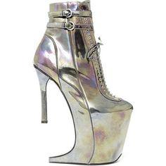 Nina Ricci Futuristic Shoes