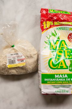 Are you ready to tackle making homemade tamales or tortillas? If so, you've probably run across the words masa and masa harina. Are they really the same thing, and how do you shop for them? Let's demystify these Mexican and Latin American staples. Corn Masa Recipe, Tamale Masa Recipe, Masa Harina Recipe, Tamale Pie, Tortilla Recipe, Masa For Tamales, How To Make Tamales, How To Make Tortillas, Pork Tamales