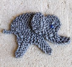 Free Knitting Pattern for Woollyphant