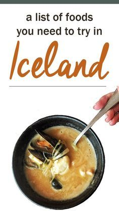 When it comes to food in Iceland, one may not expect a small island hovering below the Arctic Circle to hold a fork in culinary delight. Oh yes, the food in Iceland is quite delicious. Island Travel, Iceland Adventures, Iceland Travel Tips, Voyage Europe, Arctic Circle, Roadtrip, Small Island, Food Lists, Foodie Travel