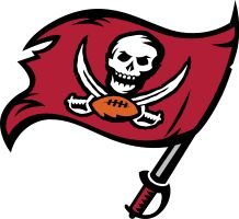 Tampa Bay Buccaneers Primary Logo on Chris Creamer's Sports Logos Page - SportsLogos. A virtual museum of sports logos, uniforms and historical items. Tampa Bay Buccaneers, Buccaneers Football, A Team, Team Logo, Football Names, Football Crafts, College Football, Football Team, 32 Nfl Teams