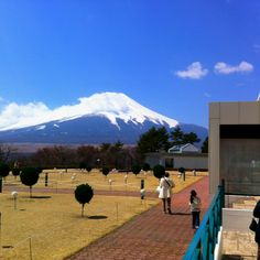 A view of Mount Fuji from Hotel Mt. Fuji