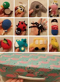 Crochet Game, Crochet For Kids, Crochet Toys, Knit Crochet, Doll Toys, Dolls, Animal Hats, Finger Puppets, Crochet Accessories
