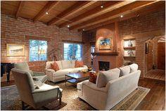 Interiér obývací pokoj mezerami Lisa Gildar interiéru