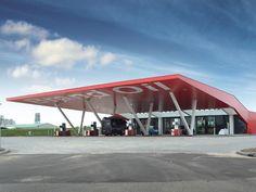 Maas Architecten » Tankstation Brand Oil Zutphen