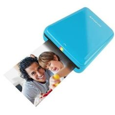 Polaroid ZIP Mobile Printer w/ZINK Zero Ink Printing Technology – Compatible w/iOS & Android Devices. Prints Directly from Your Mobile Phone or Tablet via Bluetooth or NFC Technology Iphone Photo Printer, Mobile Photo Printer, Smartphone Printer, Printer Scanner, Polaroid Printer, Zink Printer, Gifts For Tech Lovers, Cool Tech Gifts, Instax Mini 90