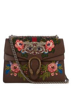 Gucci Dionysus embellished leather shoulder bag