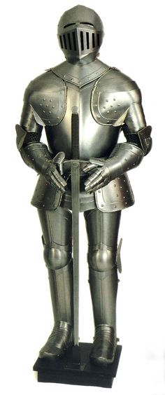 Knights in shining armor are a must for the medieval era. You never know when one may sweep you off your feet.