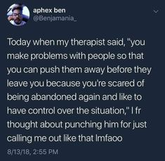Curated by 🖤 MIND * Therapist Quotes * Mental Health * Wellness * Illness * Mindfulness * Growth * Memes * Talking Quotes, Real Talk Quotes, Fact Quotes, Mood Quotes, Quotes Pics, Relatable Tweets, Tweet Quotes, Twitter Quotes Funny, Heartbroken Quotes