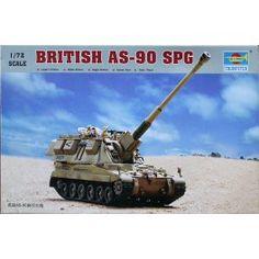 British AS-90 SPG