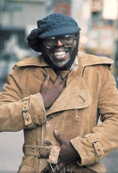 "Curtis Mayfield, 1973. ""Add a little sugar, honeysuckle lamb. A great big expression of happiness."""
