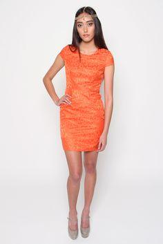 DA SILVA DRESS (SOLD OUT) | Amber Whitecliffe Meraki, Orange Dress, Amber, Bodycon Dress, Dresses, Fashion, Vestidos, Moda, Body Con