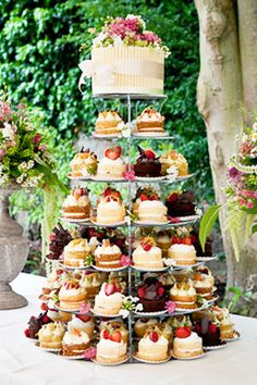 Wedding Cakes - Tea Party Tower