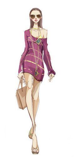 sketch Catwalk_www.enakei.com